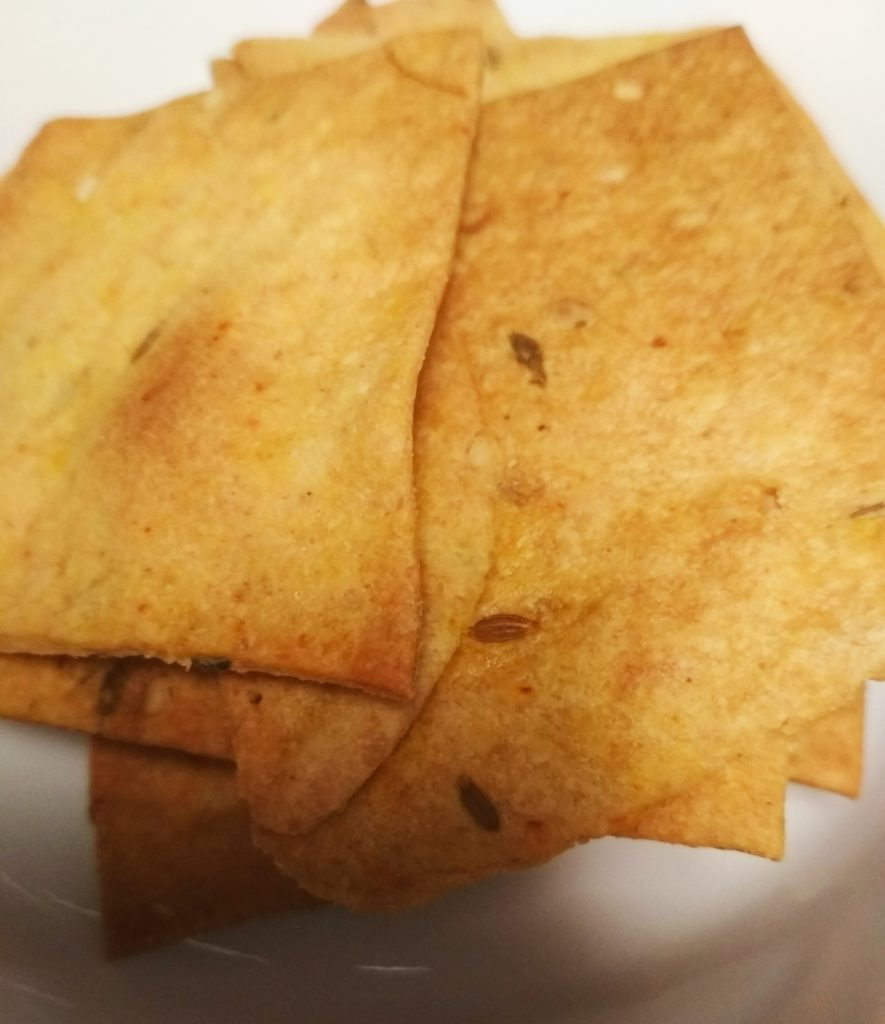 Healthy Wheat Crackers Recipe
