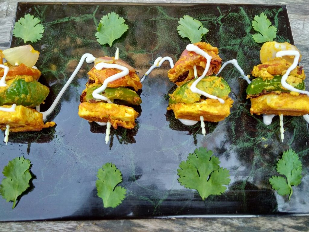 Tofu Tikka Recipe