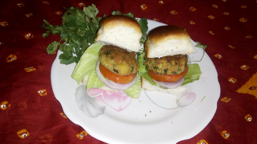 Veggie Chop Burger Recipe