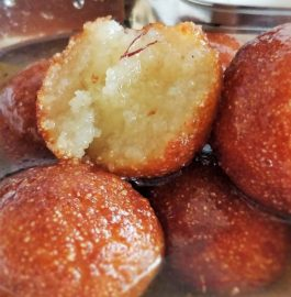 Sooji Gulabjamun Recipe
