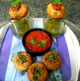 Sooji Oats Handvo Bite Recipe