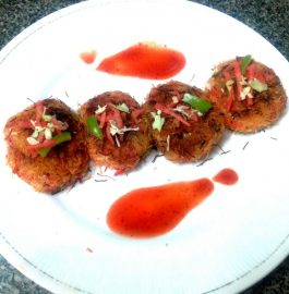 Sevai Nest Tikkis Recipe