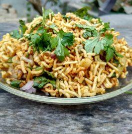 Maggi Bhel Recipe