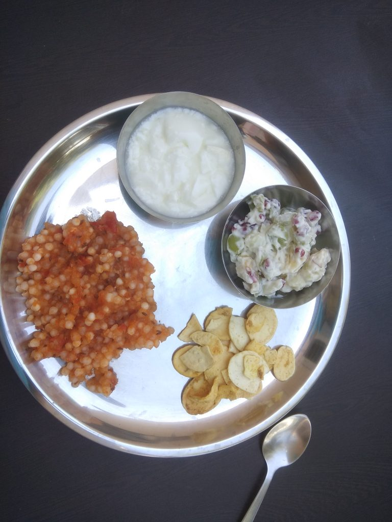 Thali For Fast Recipe