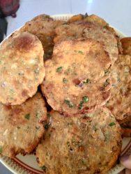 Veggie Onion Puri Recipe