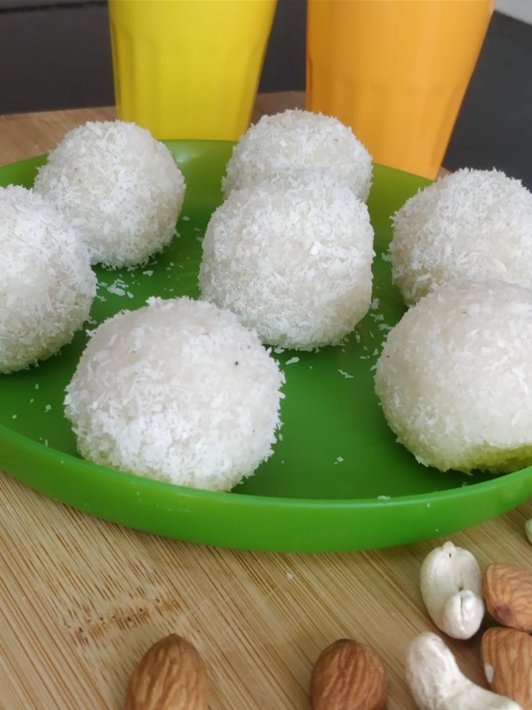 coconut ladoo recipe | 5 minute recipe