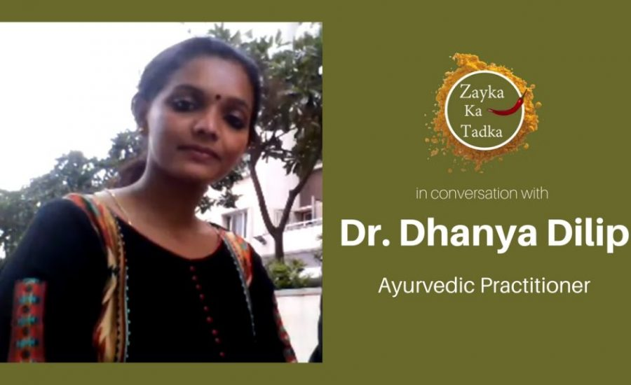 Dr Dhanya Ayurvedic Practitioner