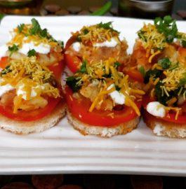 Bread Chaat - Kolkatta Style Recipe