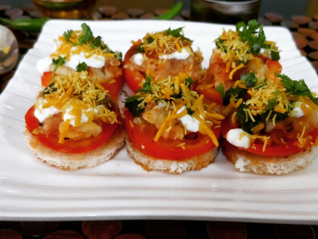 Bread Chaat - Kolkatta Style Recipe
