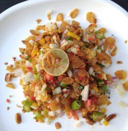 Cornflakes Bhel Recipe
