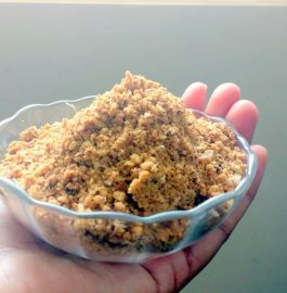 Peanut Chutney Powder Recipe
