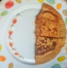 Pizza Pocket Paratha Recipe
