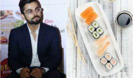 Kohli. Dhoni and cricketers favorite food