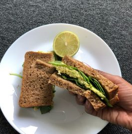 Chickpea And Avocado Sandwich Recipe