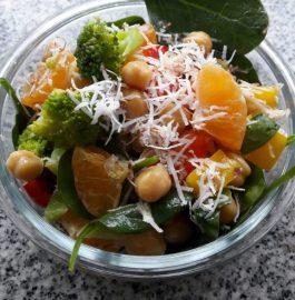 Chickpea Broccoli and Orange Salad Recipe