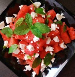 Classic Watermelon Salad Recipe