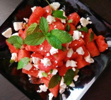 Classic Watermelon Salad Recipe