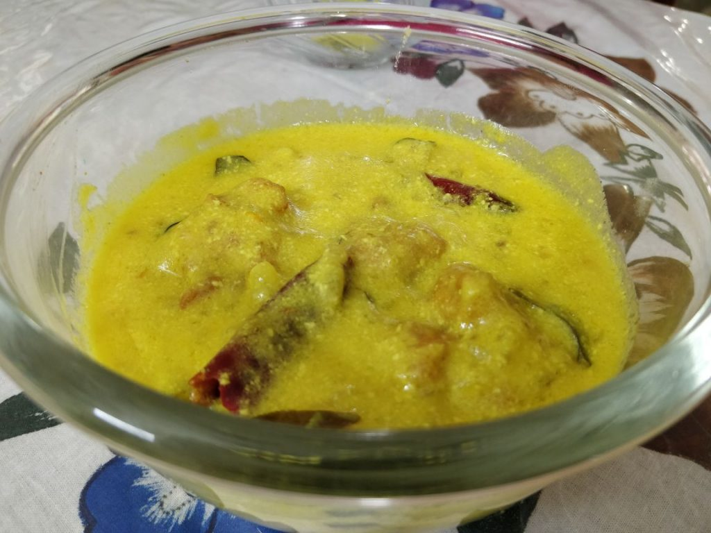 Hyderabadi Pakode Ki Kadhi Recipe