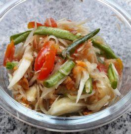 Som Tam | Thai Salad | Raw Papaya Salad Recipe