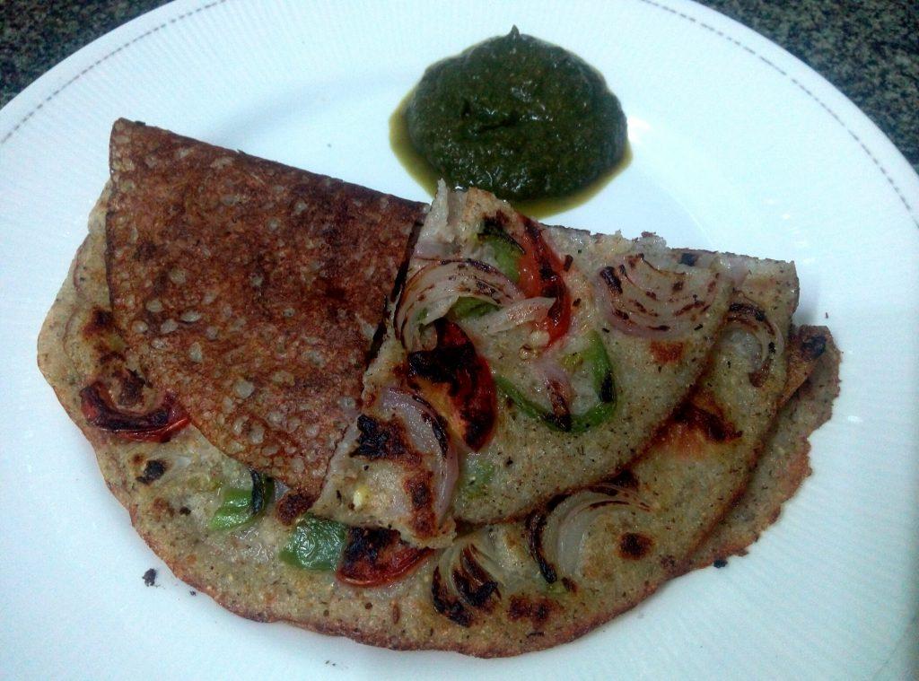 Moong Dal Korma Uttapam Recipe