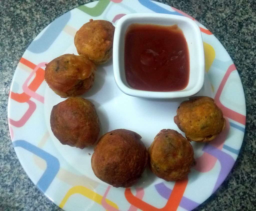 Yoyo Veg Kofta   Less Oil Snack Recipe