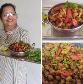 Kadai Chole | Chole Masala Recipe
