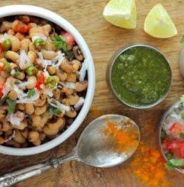 Lobia Salad Recipe