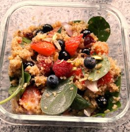Quinoa Mixed Berries Salad Recipe