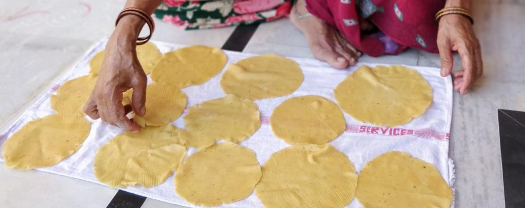 Urad And Moong Dal Papad Recipe