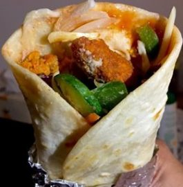 Falafel Tortilla Wrap Recipe