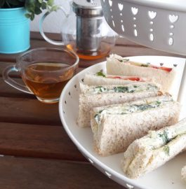 Cucumber Dill Sandwich And English Tea Recipe