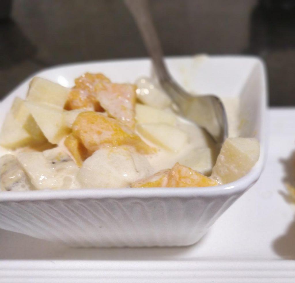 Fruit Cream | Instant Kids Snack Recipe