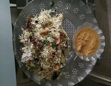 Coconut Rice With Coconut Chutney Recipe