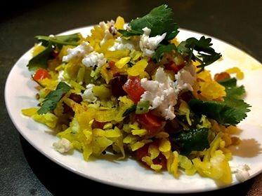 Dadpe Pohe   Vegan Recipe   5 Minute Snack