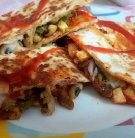 Veg Beans Quesadillas Recipe