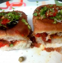 Masala Paav Stuffed With Bhaji Recipe