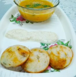 Appe With Vegetables And Mint Recipe