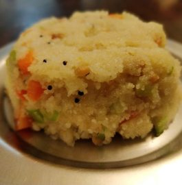 Kharra Bhat | South Indian Style Upma Recipe