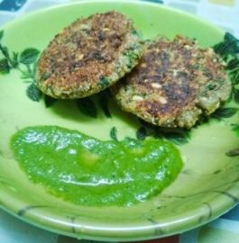 Moong Sprout Tikki Recipe