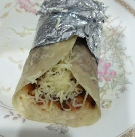 Schezwan Cheese Frankie Recipe
