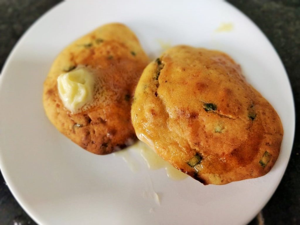 Cheese Corn Bread Biscuits Recipe