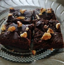 Eggless Brownie Fudge Recipe