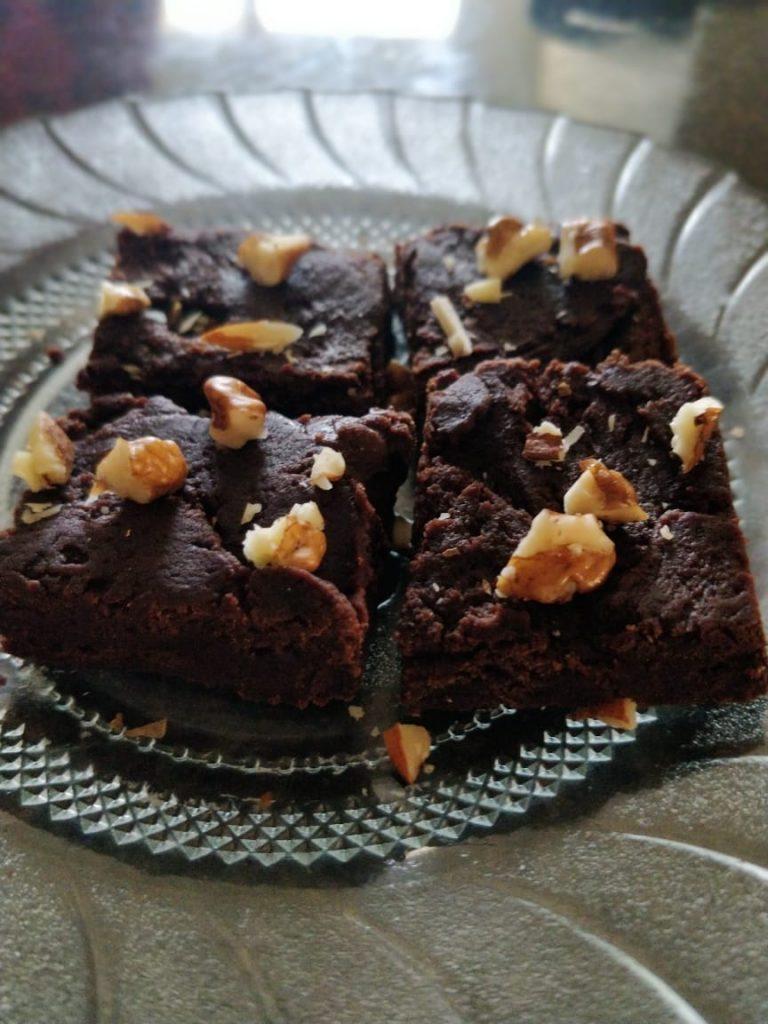 Eggless Brownie Fudge Recipe