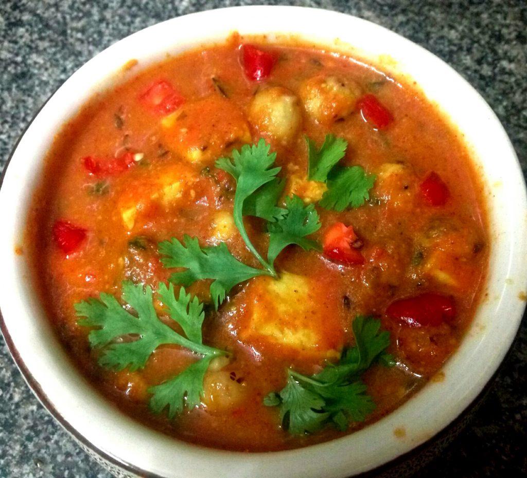 Shahi Paneer Makhana Curry Recipe