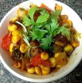 Corn Broccoli Mix Stir fry Recipe