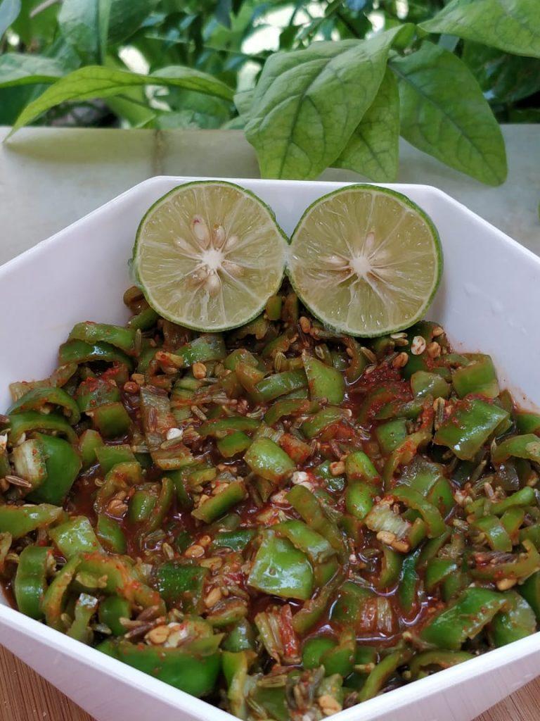 Instant Lemon Chilli Pickle Recipe