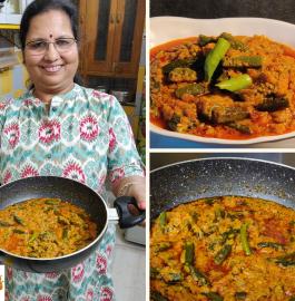 Masala Bhindi | Reastaurant Style Bhindi Recipe