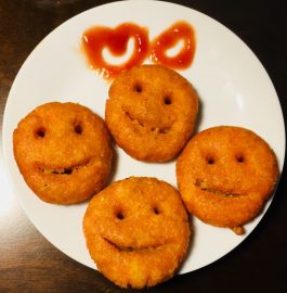 Potato Smiley | 5 Minute Kids Snack Recipe
