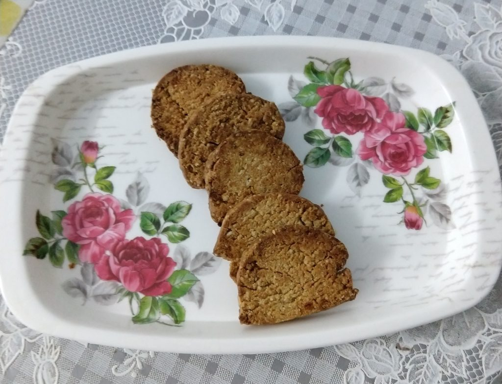 Atta Cookies With Oats and Jeera Recipe