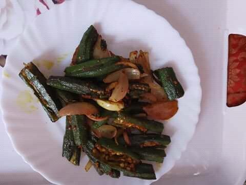 Bhindi Tawa Fry Recipe